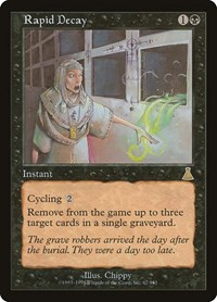 Rapid Decay, Magic: The Gathering, Urza's Destiny