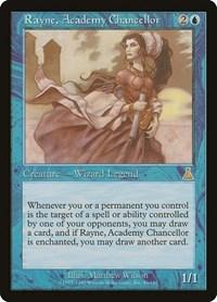 Rayne, Academy Chancellor, Magic: The Gathering, Urza's Destiny
