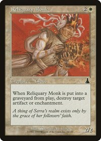 Reliquary Monk, Magic: The Gathering, Urza's Destiny
