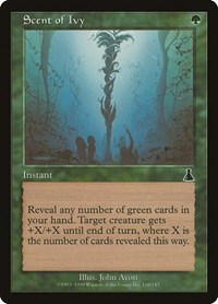 Scent of Ivy, Magic, Urza's Destiny