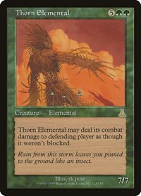 Thorn Elemental, Magic: The Gathering, Urza's Destiny