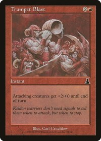 Trumpet Blast, Magic, Urza's Destiny