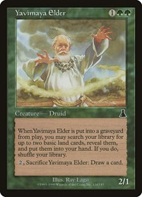 Yavimaya Elder, Magic: The Gathering, Urza's Destiny