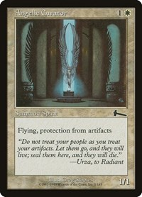 Angelic Curator, Magic: The Gathering, Urza's Legacy