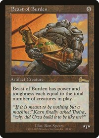 Beast of Burden, Magic: The Gathering, Urza's Legacy