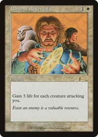 Blessed Reversal, Magic: The Gathering, Urza's Legacy