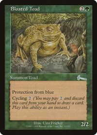 Bloated Toad, Magic: The Gathering, Urza's Legacy