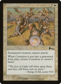 Cessation, Magic: The Gathering, Urza's Legacy