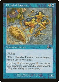 Cloud of Faeries, Magic: The Gathering, Urza's Legacy