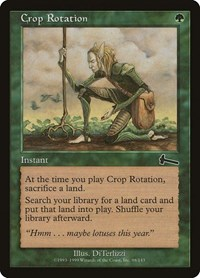 Crop Rotation, Magic: The Gathering, Urza's Legacy
