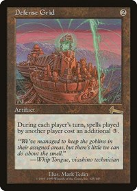 Defense Grid, Magic: The Gathering, Urza's Legacy
