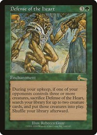 Defense of the Heart, Magic: The Gathering, Urza's Legacy