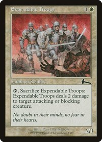 Expendable Troops, Magic: The Gathering, Urza's Legacy