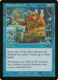 Frantic Search, Magic: The Gathering, Urza's Legacy