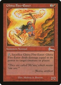 Ghitu Fire-Eater, Magic: The Gathering, Urza's Legacy