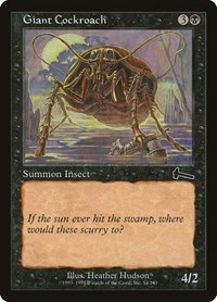 Giant Cockroach, Magic: The Gathering, Urza's Legacy