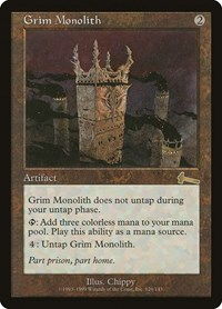 Grim Monolith, Magic: The Gathering, Urza's Legacy