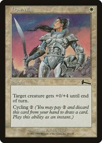 Iron Will, Magic: The Gathering, Urza's Legacy