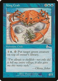 King Crab, Magic: The Gathering, Urza's Legacy