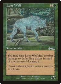 Lone Wolf, Magic: The Gathering, Urza's Legacy