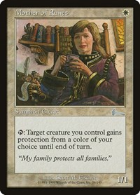 Mother of Runes, Magic: The Gathering, Urza's Legacy