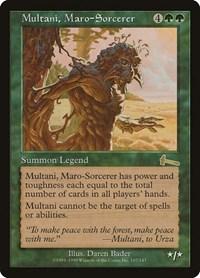Multani, Maro-Sorcerer, Magic: The Gathering, Urza's Legacy