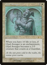 Opal Avenger, Magic: The Gathering, Urza's Legacy
