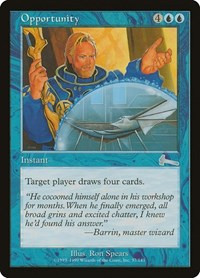 Opportunity, Magic, Urza's Legacy