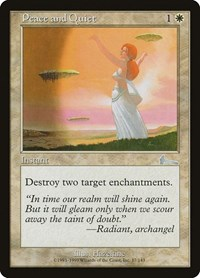 Peace and Quiet, Magic: The Gathering, Urza's Legacy