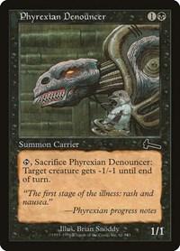 Phyrexian Denouncer, Magic: The Gathering, Urza's Legacy