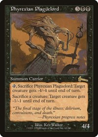 Phyrexian Plaguelord, Magic: The Gathering, Urza's Legacy