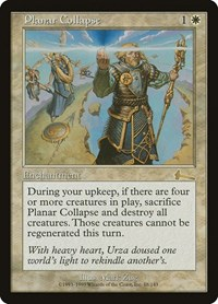Planar Collapse, Magic: The Gathering, Urza's Legacy