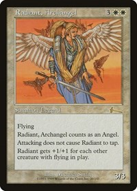 Radiant, Archangel, Magic: The Gathering, Urza's Legacy