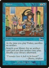 Tinker, Magic: The Gathering, Urza's Legacy