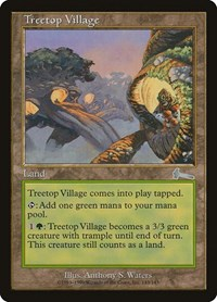 Treetop Village, Magic: The Gathering, Urza's Legacy