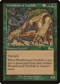 Weatherseed Treefolk (Foil)