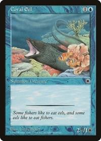 Coral Eel, Magic: The Gathering, Portal