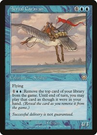 Aerial Caravan, Magic: The Gathering, Mercadian Masques