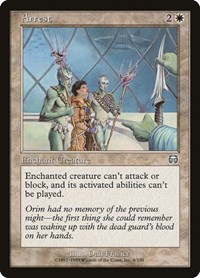 Arrest, Magic: The Gathering, Mercadian Masques
