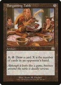 Bargaining Table (Foil)
