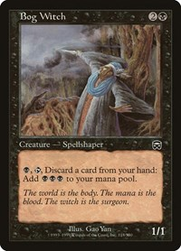 Bog Witch, Magic: The Gathering, Mercadian Masques