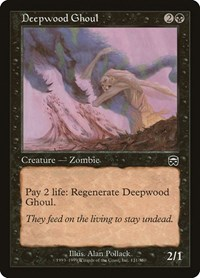 Deepwood Ghoul, Magic: The Gathering, Mercadian Masques