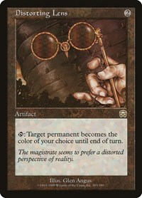 Distorting Lens, Magic: The Gathering, Mercadian Masques