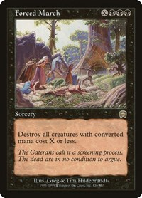 Forced March (Foil)