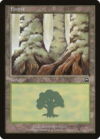 Forest (350), Magic: The Gathering, Mercadian Masques