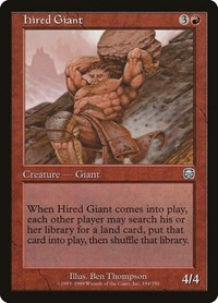 Hired Giant, Magic, Mercadian Masques