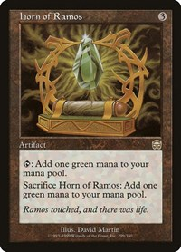 Horn of Ramos, Magic: The Gathering, Mercadian Masques