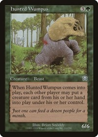 Hunted Wumpus, Magic: The Gathering, Mercadian Masques