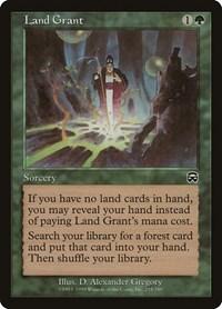 Land Grant, Magic: The Gathering, Mercadian Masques
