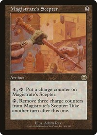 Magistrate's Scepter, Magic: The Gathering, Mercadian Masques